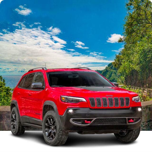 Local Maui car rental on the Road to Hana