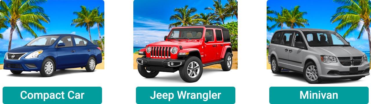Popular Maui car rental options