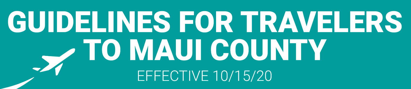 COVID-19 guidelines for Maui