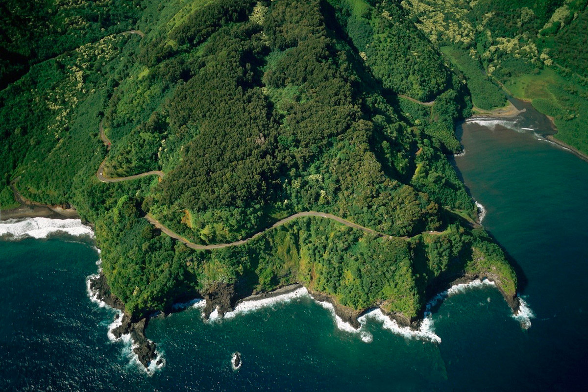 Road to Hana on Maui