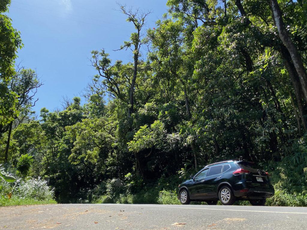 SUV rental on Maui