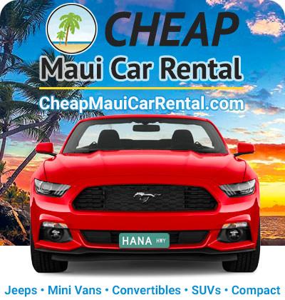 Road to Hana car rentals